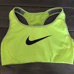 Women's XS sports bra by Nike
